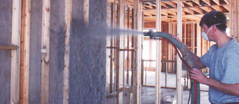 Damp Spray Cellulose Insulation in Charlotte, North Carolina