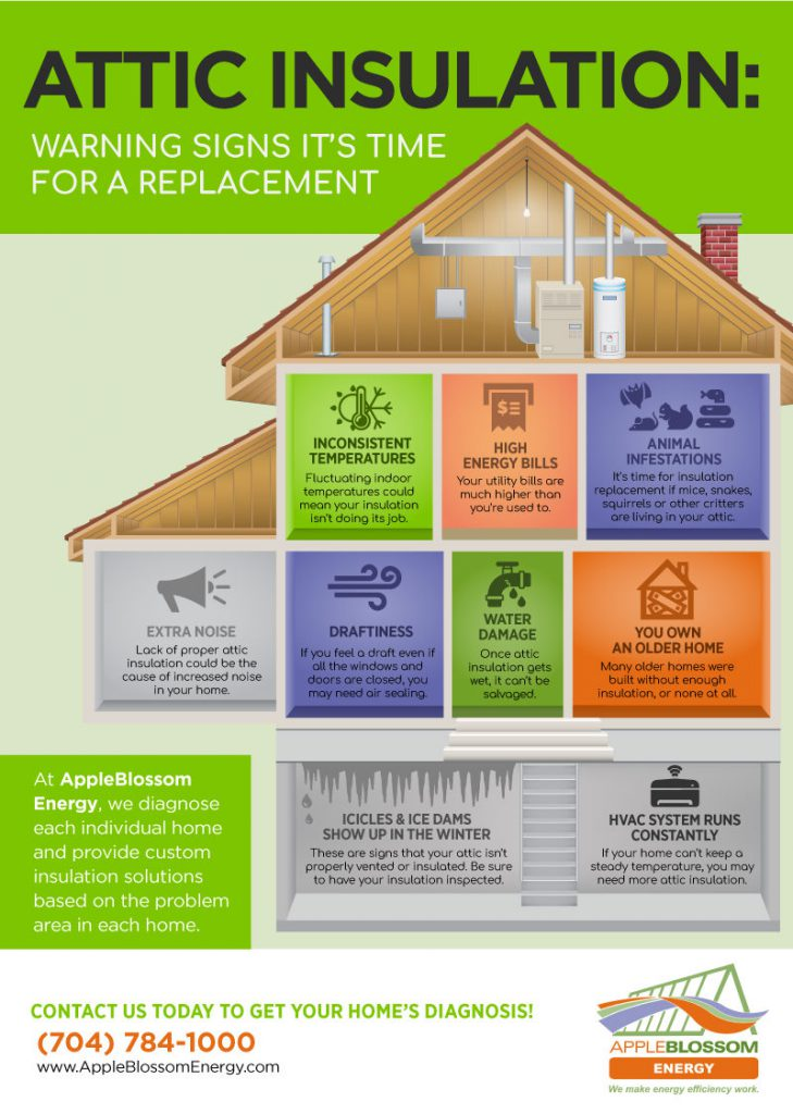 Has Your Attic Insulation Gone Bad? 9 Signs to Watch Out For [infographic]
