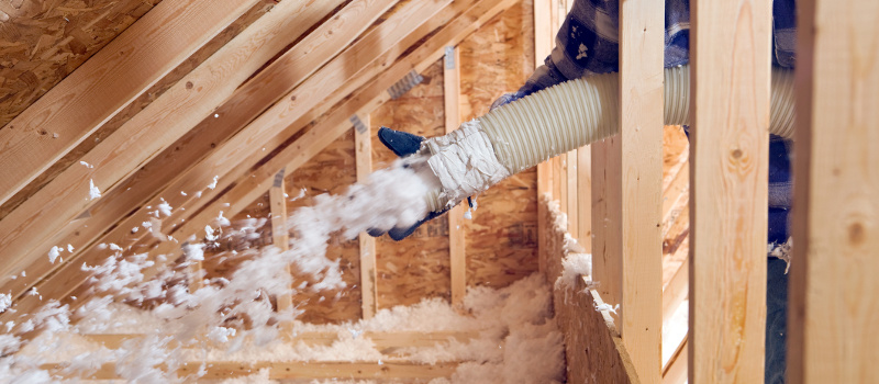 Save Time and Energy with Fiberglass Blown-In Insulation