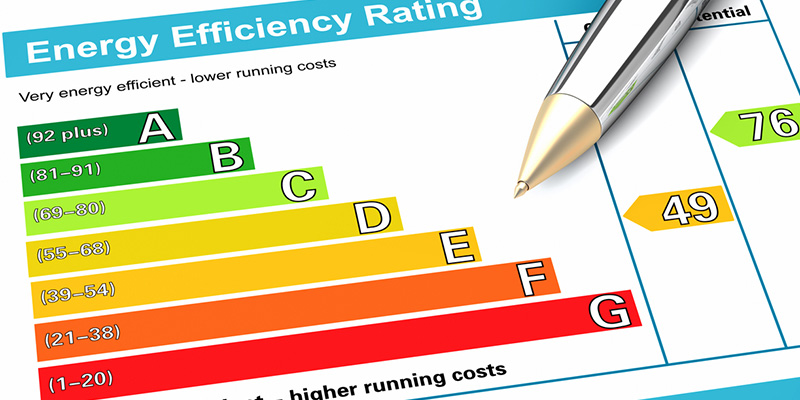 Energy assessments are done on existing and finished homes