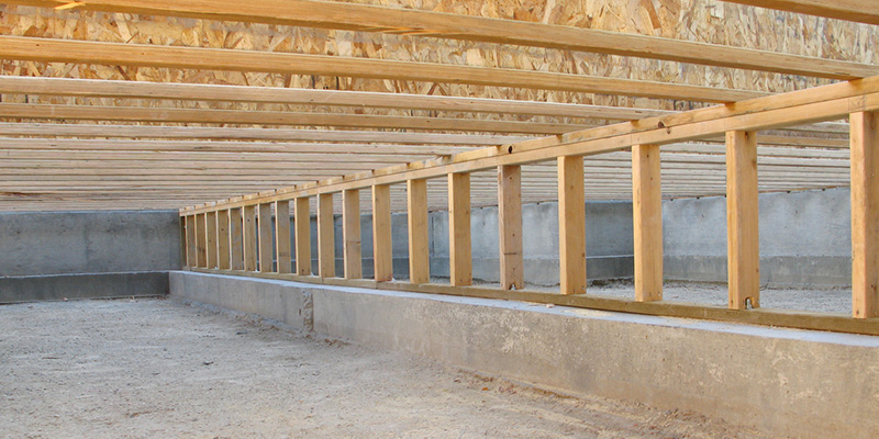 a sealed crawlspace allows for better energy efficiency